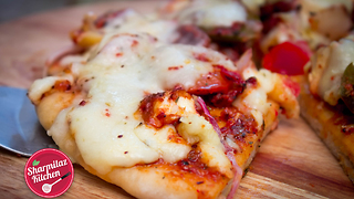 2-minute microwave pizza recipe