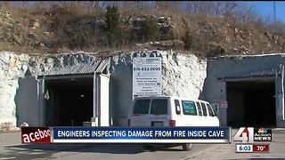 Owners fear cave fire ruined their business - Video