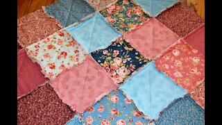 QUILT AS YOU GO - Rag Quilt