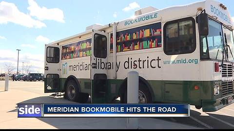 Meridian BookMobile Brings the Library To You