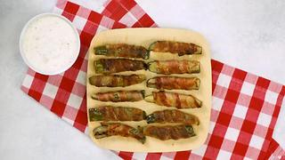 Bacon Wrapped Pickles - Video