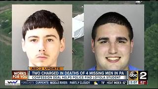 2 charged in killings of missing Pennsylvania men - Video