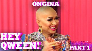 RuPaul's Drag Race Star ONGINA on HEY QWEEN with Jonny McGovern Part 1 - Video