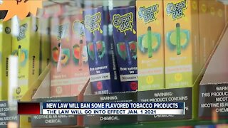 Governor Newsom signs bill prohibiting the sale of most flavored tobacco products