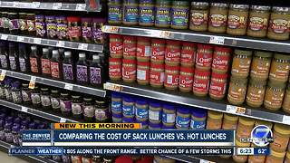Bring vs. buy: Which is a cheaper school lunch option for parents? - Video