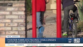 Foster families facing challenges due to coronavirus