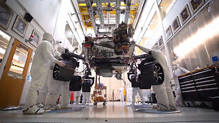 Mars 2020 Rover Stands on Its Own Six Wheels For First Time