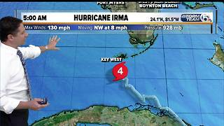 5 a.m. Sunday Hurricane Irma update - Video