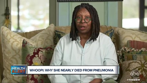 Ask Dr. Nandi: Why Whoopi Goldberg nearly died from pneumonia