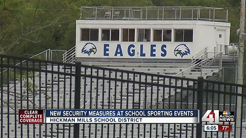 Fans encounter new security at Ruskin High School sporting events