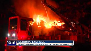 Arson fires on the rise in northeast Detroit - Video