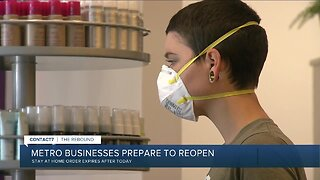 Denver metro businesses prepare to reopen Saturday