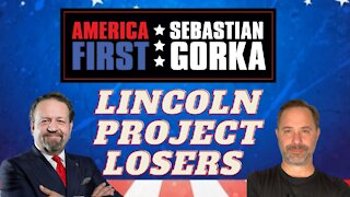 Lincoln Project losers. Chris Buskirk with Sebastian Gorka on AMERICA First