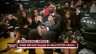 Kobe Bryant and 13-year-old daughter among 9 killed in California helicopter crash