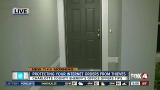 "Protect your packages from ""Porch Pirates"""