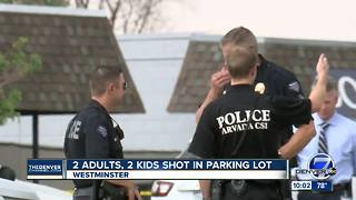 Boy killed, mother and child critically wounded in parking lot shooting in Westminster