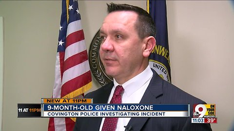Covington baby given naloxone after apparent overdose
