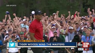 Tiger Woods seals fifth Masters title and 15th major title