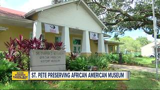 St. Petersburg reviving African American Museum - Video