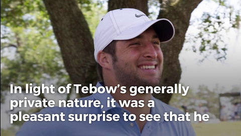 Tebow Gives Rare Glimpse Into Personal Life, Reveals 5 Favorite Things In His Home