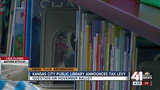 Kansas City Public Library asks for tax levy