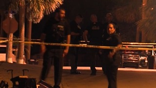 Woman hospitalized after shooting in Stuart - Video