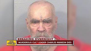 Charles Manson, whose cult slayings horrified world, dies at age 83 - Video