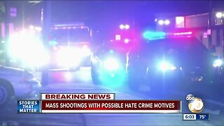 Mass shootings with possible hate crime motives
