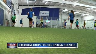 'Hurricane Camps' offer relief for kids, parents after Hurricane Irma - Video