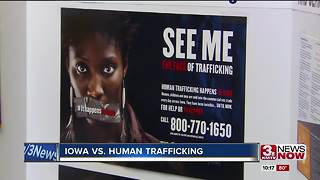 Iowa governor calls for crackdown on human trafficking - Video