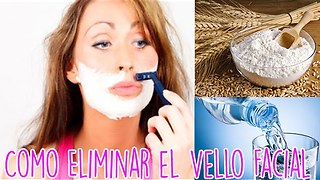 Como Eliminar El Vello Facial - Video