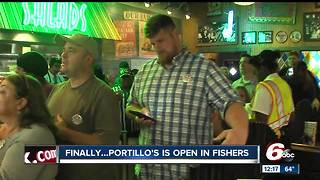 Chicago-style restaurant Portillo's opens 52nd location in Fishers - Video