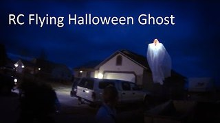 """Ghost"" Spotted Flying Around Neighborhood in Utah - Video"