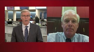 US Senator Ron Johnson talks with TMJ4 after rioters storm Capitol