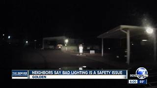 Mobile home community blames poor lighting for recent accident that hurt man - Video