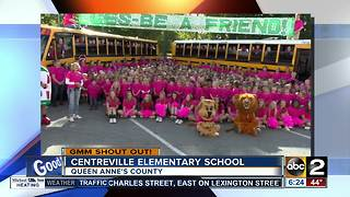 Good morning from Centreville Elementary School - Video