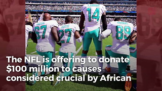NFL's Attempt At Unprecedented Bribery Has Anthem Protesters Turning On Each Other - Video