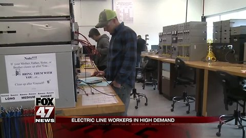 Electric lineworker program at LCC