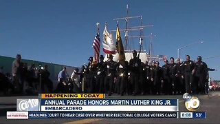 Annual parade honors Martin Luther King Jr.