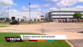 MI movie studio holds garage sale with items from 'Batman vs. Superman' - Video