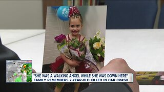 Family remembers 7-year-old killed in crash