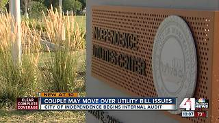Independence couple may move over utility bill issues - Video