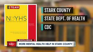 More mental health help in Stark County - Video