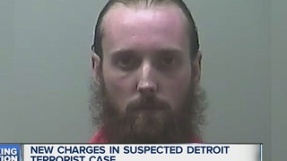 New charges in suspect Detroit terrorist case - Video