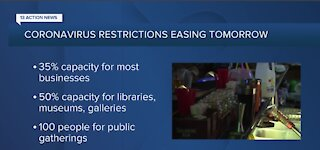 COVID-19 restrictions are starting to ease in Nevada