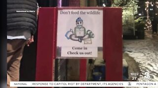 Signs outside Old Market shops cause controversy