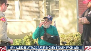 Oildale man says he was robbed and assaulted - Video