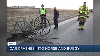 Troopers investigating crash involving buggy in Ashland County