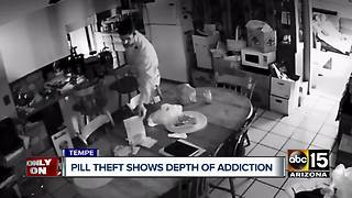 Tempe family's friend caught on camera stealing prescription drugs - Video