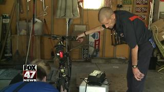 Community steps up after bicycle stolen from disabled Mid-Michigan veteran
